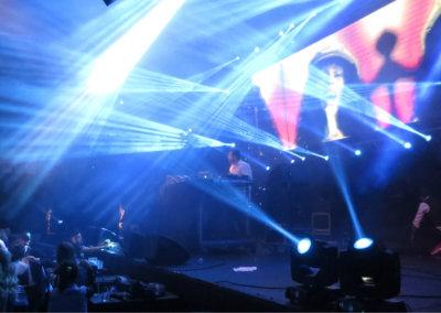 DJ/VJ optreden tijdens bedrijfsfeest of party