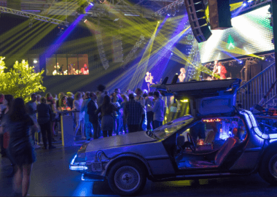 Bedrijfsfeest,Themafeest,Back to the future,Party,Elsevier