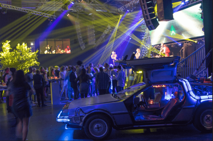 Bedrijfsfeest,Back to the future,Party