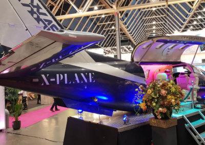 The Xplane tijdens de vakantiebeurs