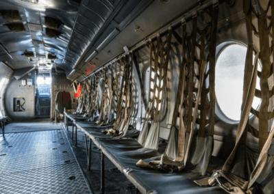 Evenementenlocatie Nationaal Militair Museum - Vergadering of workshop in de buik van een Fokker gevechtsvliegtuig