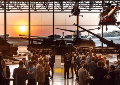 Evenementenlocatie Nationaal Militair Museum - congres organiseren