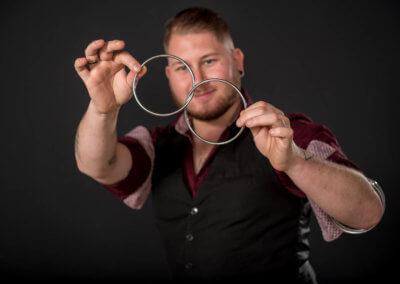 Goochelaar huren - Tim Horsting - Close-up magic shows