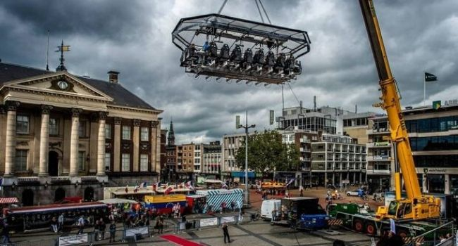 Bedrijfsuitje Amsterdam, Utrecht, Den Haag, Rotterdam - Dinner in the sky