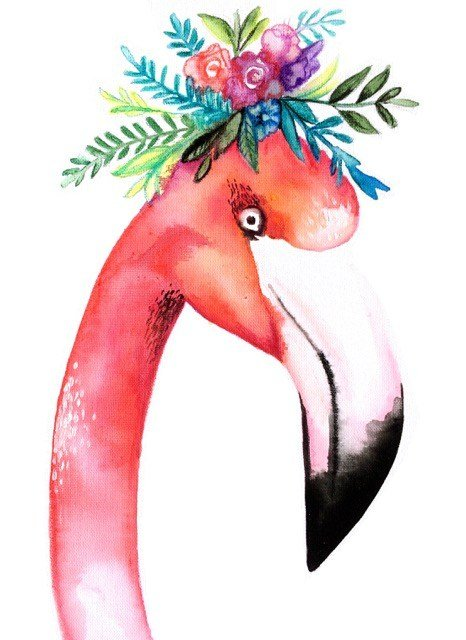 Schilder workshop organiseren als bedrijfsuitje of teambuilding-Designkeuze-Flamingo