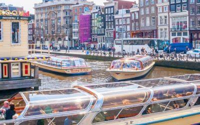 Stadsspel Amsterdam met rondvaart en lunch