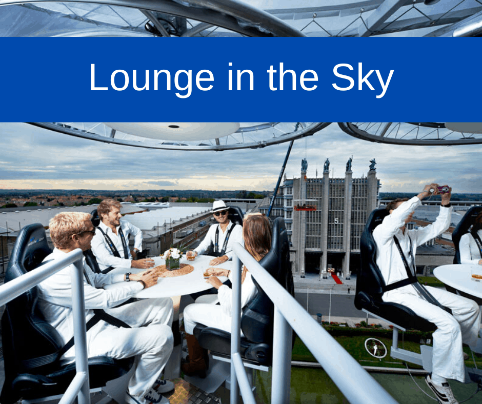 Lounge in the Sky Event in Amsterdam 28 augustus 2020 contact