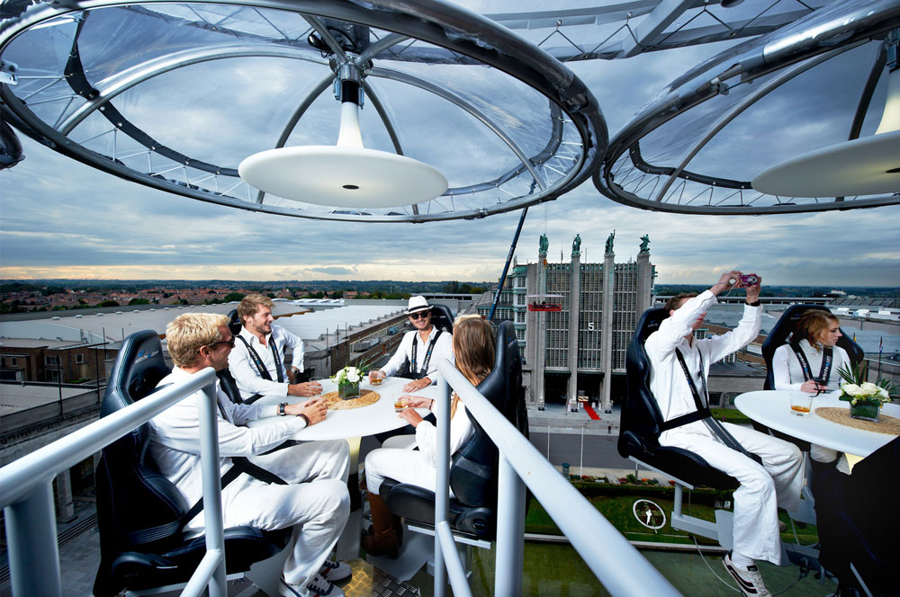 Lounge in the Sky Event in Amsterdam 28 augustus 2020