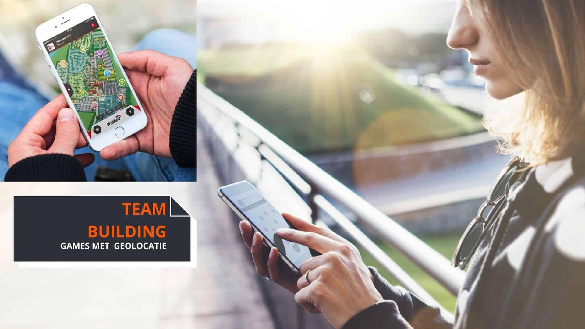 Online teambuilding activiteit tijdens corona - Interactieve speurtochten met GEO locatie