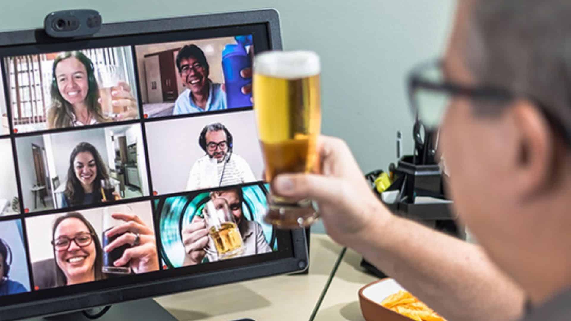Online teambuilding activiteit tijdens corona - Online spel spelen met collegas