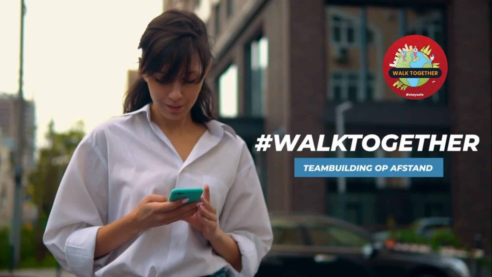 Walk Together Teambuilding op Afstand