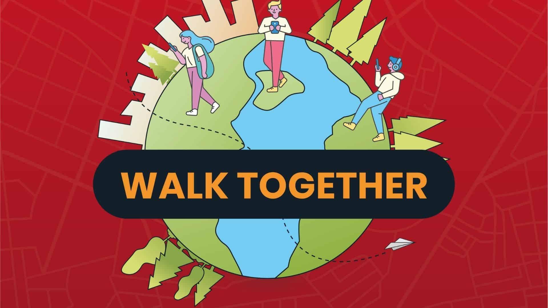 Walk Together - Teambuilding op Afstand logo